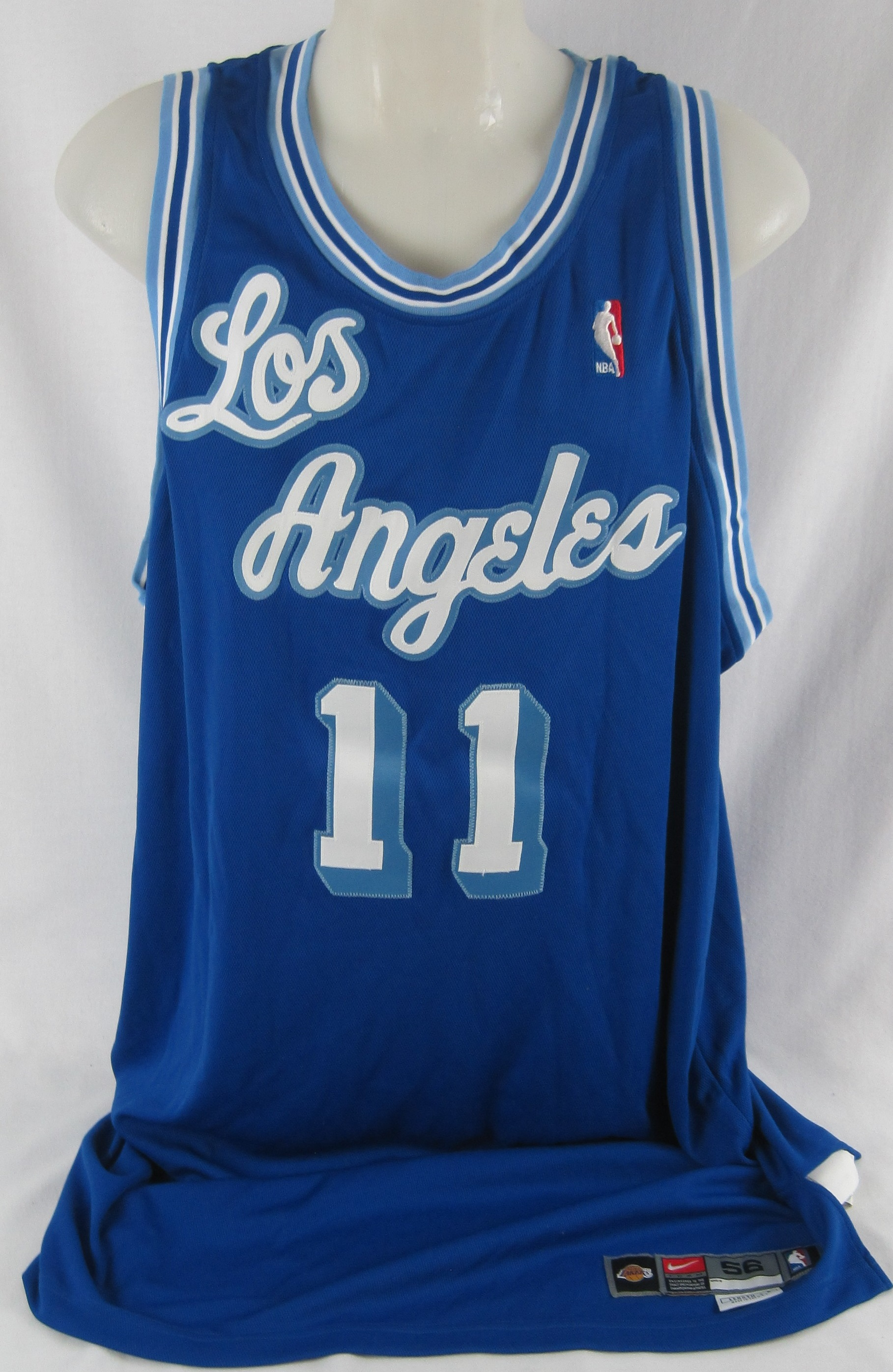 ... Karl Malone 2003-2004 Los Angeles Lakers TBC Professional Model Jersey  w Light Use ... 4a321ce06
