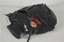 Joe Mauer Minnesota Twins Professional Model Signed & Inscribed Catchers Mitt