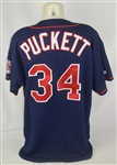 Kirby Puckett 1998 Minnesota Twins Professional Model Jersey w/Light Use