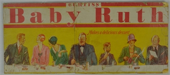 Vintage Baby Ruth Advertising Display