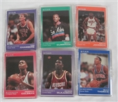 NBA Collection of 6 Limited Edition 1990 Star Co Silver Sets