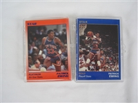 Patrick Ewing Lot of 2 Limited Edition Star Co Silver & Platinum Sets