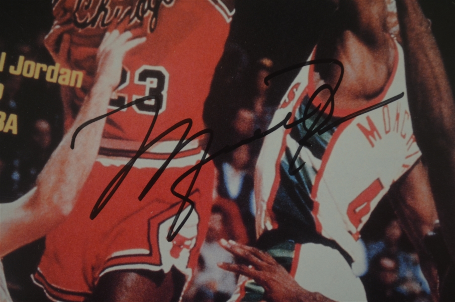 Michael Jordan Autographed & Framed 1984 Rookie Sports Illustrated UDA