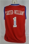 Michael Carter-Williams Philadelphia 76ers Autographed Jersey
