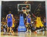 Steph Curry Golden State Warriors Autographed 16X20 Photograph