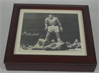 "Muhammad Ali ""The Greatest"" Autographed Limited Edition Collectors Watch Set w/Original Box"