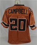 Earl Campbell Texas Longhorns Autographed Jersey