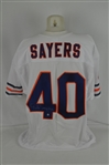 Gales Sayers Chicago Bears Autographed Jersey