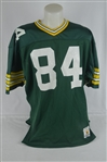 Sterling Sharpe Green Bay Packers Profeesional Model Jersey w/Heavy Use