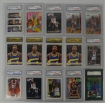 NBA Collection of 15 Graded Rookie Cards