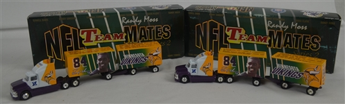 Randy Moss Lot of 2 Die Cast Trucks