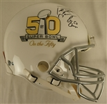 Peyton Manning Super Bowl 50 Autographed Limited Edition Helmet
