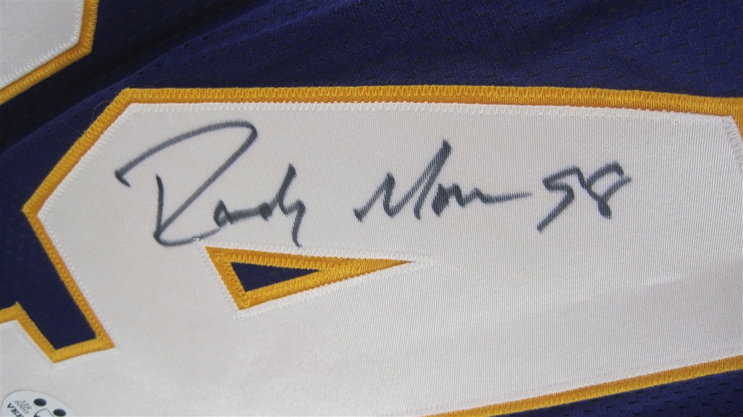 quality design 766be 72213 Lot Detail - Randy Moss 1998 Autographed Rookie of the Year ...
