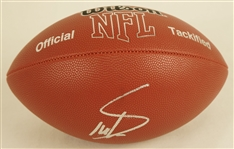Stefon Diggs Autographed Football