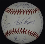 New York Mets 1969 Team Signed Baseball