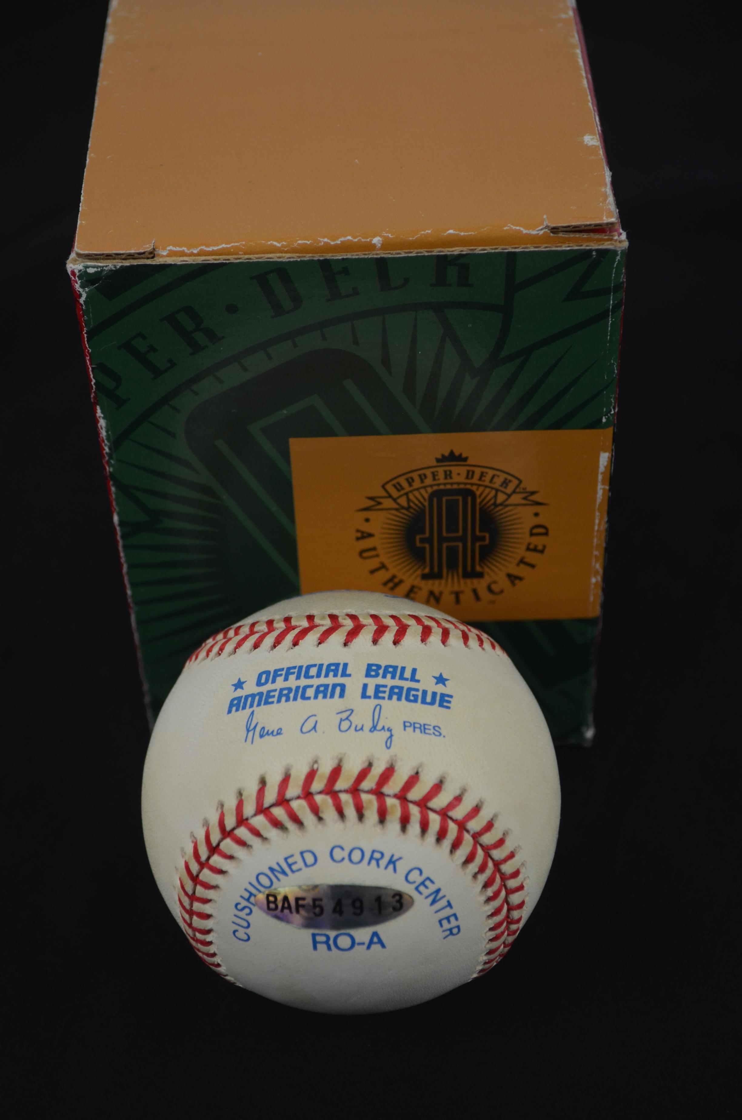 5958a039b3 Lot Detail - Ken Griffey Jr. Autographed Baseball UDA