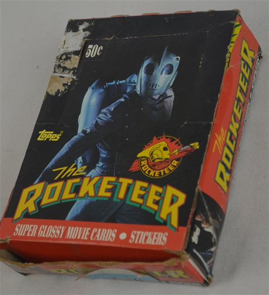 The Rocketeer 1991 Box of Unopened Topps Cards