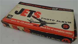 Vintage Box of 1956 Topps Gum Co Jets Photo Albums