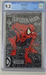 Marvel Spider-Man 1990 Comic Issue #1 CGC Graded 9.2