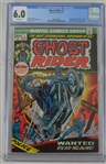 Ghost Rider 1973 Comic Book Inaugural Issue #1 CGC Graded 6.0