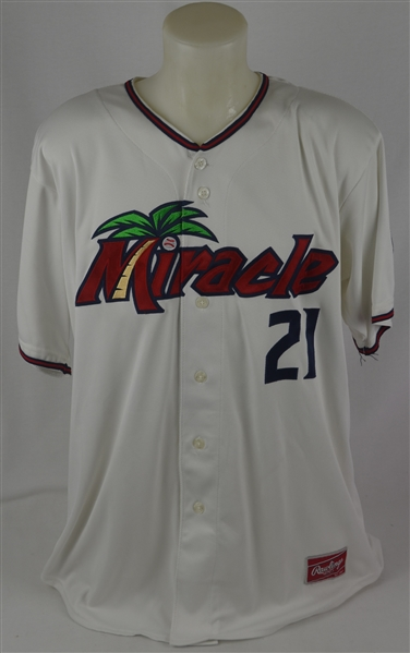 Oswaldo Arcia 2012 Minnesota Twins Professional Model ML Jersey w/Medium Use & Team LOA