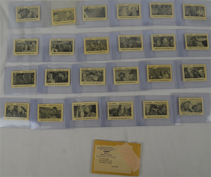 1955 Roy Rogers Card Set w/Original Mailing Envelope