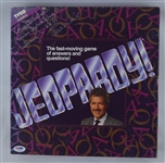 Alex Trebeck Autographed 1992 Jeopardy Game