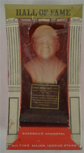 Babe Ruth Vintage 1963 Hall of Fame Bust w/Original Packaging