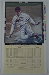 Enos Slaughter Signed 1982 Litho