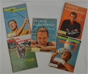 Collection of 5 Autographed Sports Illustrated Magazines