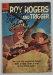 Roy Rogers & Trigger Signed Comic Book