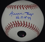 Willie Mays Autographed & Inscribed Baseball