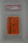 Charles Coody 1971 Masters Badge w/ PSA Authentication