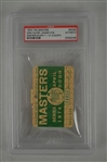 Gary Player 1974 Masters Badge w/ PSA Authentication