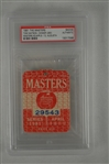 Tom Watson 1981 Masters Badge w/ PSA Authentication