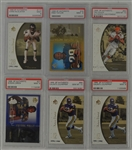 1998-99 SP Authentic Football Collection of 6 PSA Graded Cards
