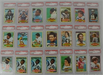1980 Topps Football Collection of 21 PSA Graded Cards