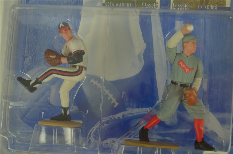 Collection of 5 MLB 1997 Starting Line Ups In Original Box