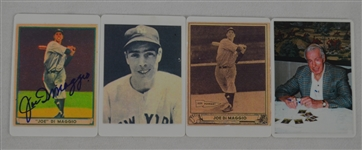 Joe DiMaggio 1941 Playball Signature Series Autographed LE Porcelain Card Set
