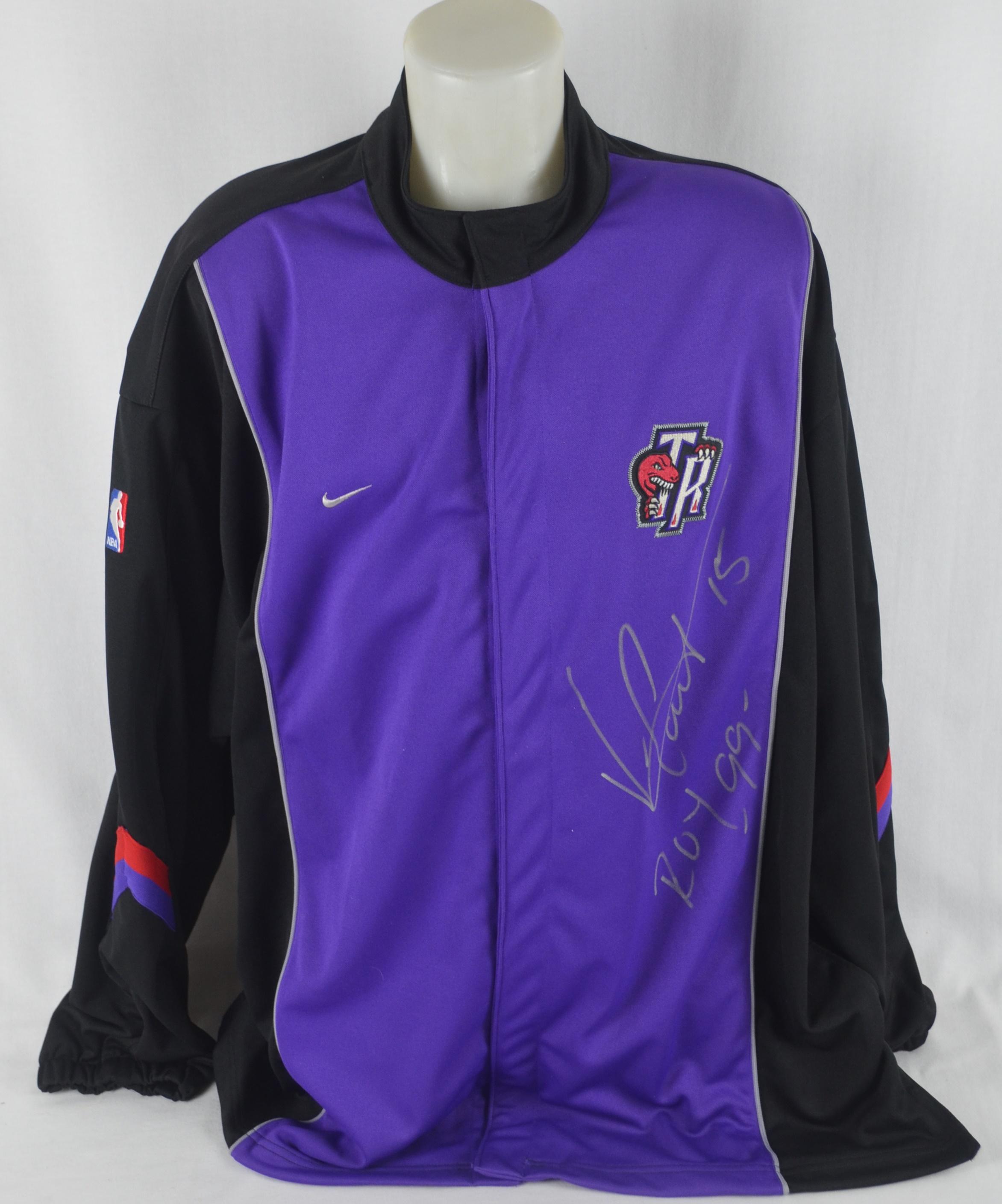 half off c2344 75570 Lot Detail - Vince Carter Autographed & Inscribed '99 ROY ...