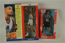 Tim Duncan & Grant Hill Starting Line Ups In Original Box