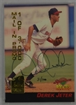 Derek Jeter 1994 Autographed Limited Edition Card #31/100
