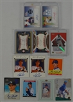 MLB Collection of 12 Autographed Insert Cards