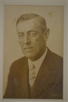 Woodrow Wilson 1913 Autographed & Dated Original Photo