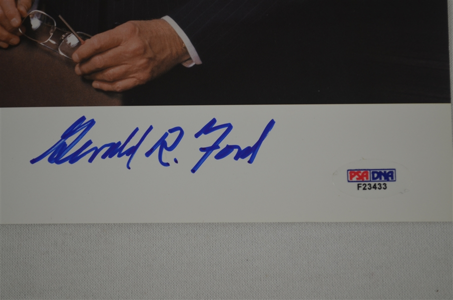 Gerald Ford Autographed Photo