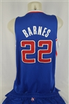 Matt Barnes 2013-14 LA Clippers Professional Model Uniform w/Medium Use