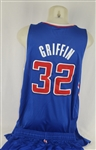 Blake Griffin 2013-14 LA Clippers Professional Model Uniform w/Medium Use