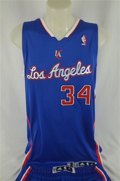 Willie Green 2013-14 LA Clippers Professional Model Uniform w/Medium Use