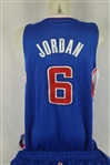 DeAndre Jordan 2013-14 LA Clippers Professional Model Uniform w/Medium Use