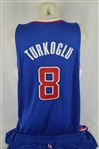 Hedo Turkgolu 2013-14 LA Clippers Professional Model Uniform w/Medium Use